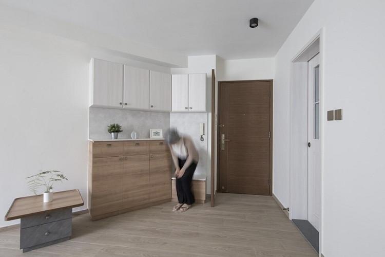 Nhà thiết kế Patrick Lam Kwai-pui đã cải tạo ra ngôi nhà thông minh phù hợp cho người lớn tuổi.
