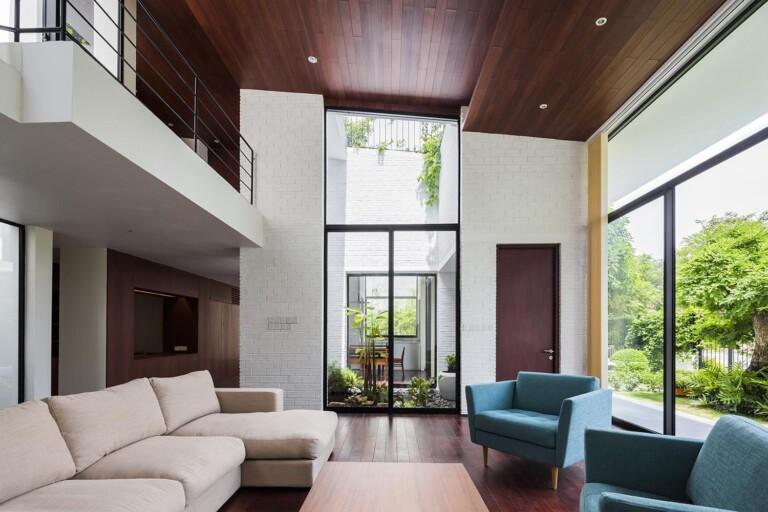 Nội thất hiện đại bên trong căn nhà