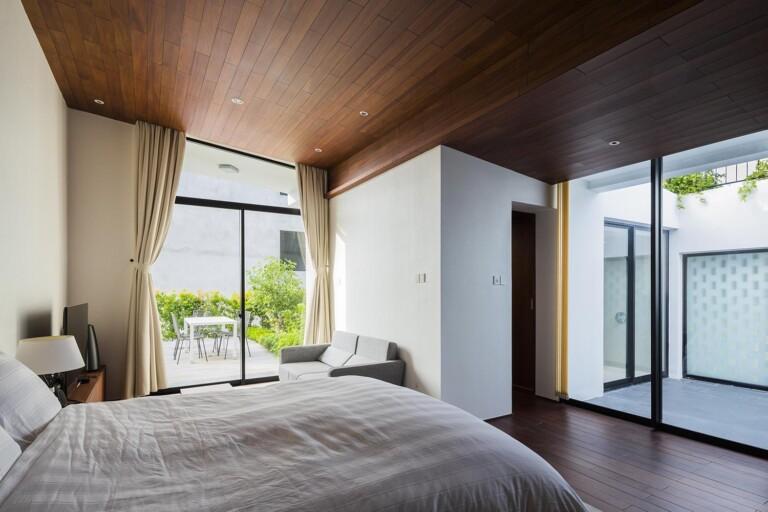 Phòng ngủ tràn ngập ánh sáng tự nhiên