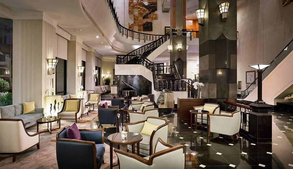 Sảnh khách sạn.