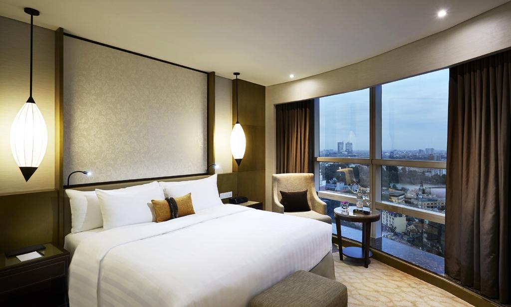 Phòng khách sạn của Melia hiện có giá từ 2,6 triệu đồng/đêm.