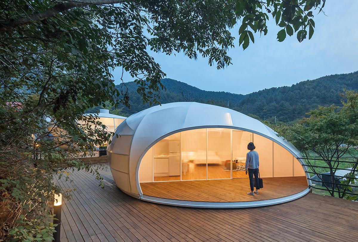 lot giua rung cay resort day sang trong va dang cap thu hut khach tai han quoc 3 - Lọt giữa rừng cây, resort đầy sang trọng và đẳng cấp thu hút khách tại Hàn quốc