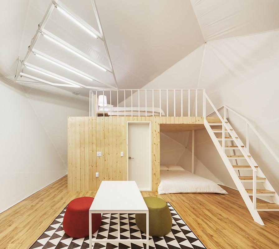 Khu nghỉ dưỡng có thiết kế tối giản nhưng vẫn sang trọng, tiện nghi