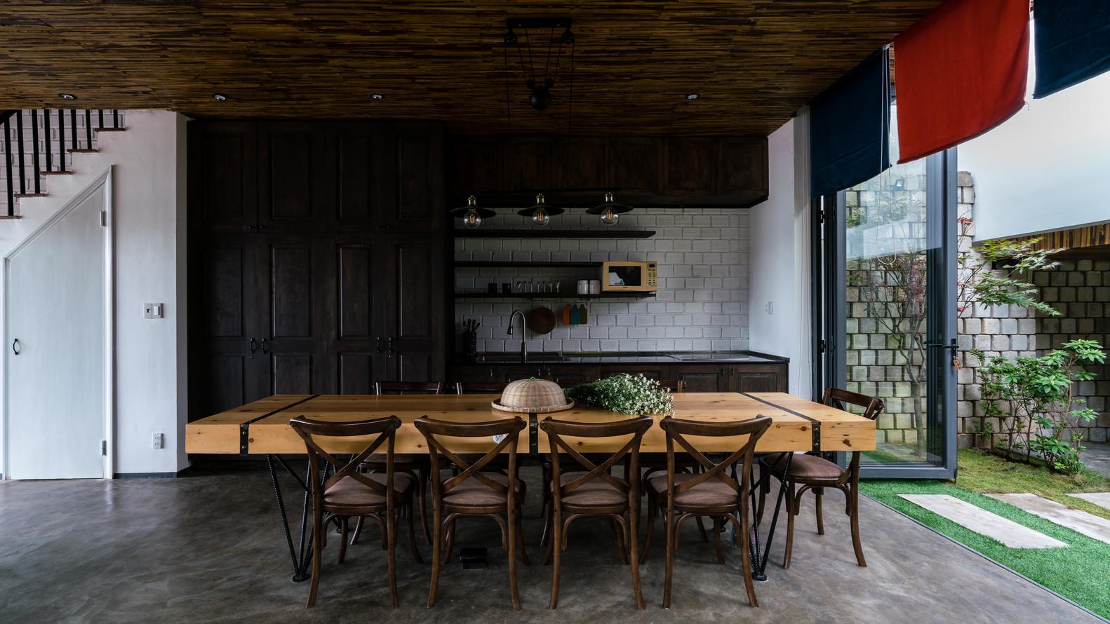 Khu bếp dành riêng cho du khách