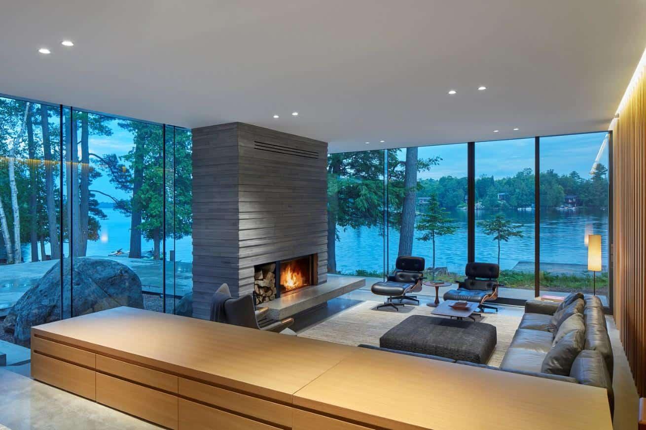"""Thiết kế hướng đến tự nhiên, """"xanh"""" tuyệt đối khi tận dụng mọi hệ thống sưởi ấm và làm mát tự nhiên, hoà hợp với nhiệt độ thời tiết bên ngoài."""