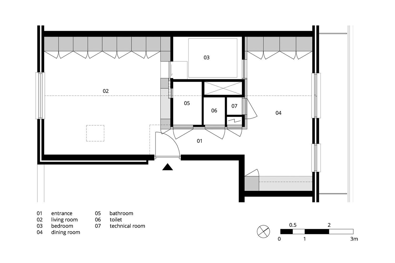 Bản thiết kế của căn hộ