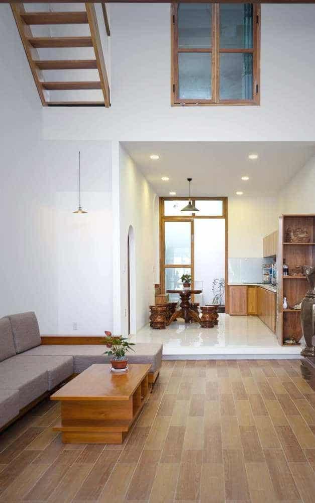 """thiet ke xanh don gian ma an tuong cua ngoi nha tai nha trang 3 - Thiết kế """"xanh"""" đơn giản mà ấn tượng của ngôi nhà tại Nha Trang"""