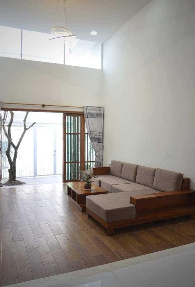 """thiet ke xanh don gian ma an tuong cua ngoi nha tai nha trang 4 - Thiết kế """"xanh"""" đơn giản mà ấn tượng của ngôi nhà tại Nha Trang"""