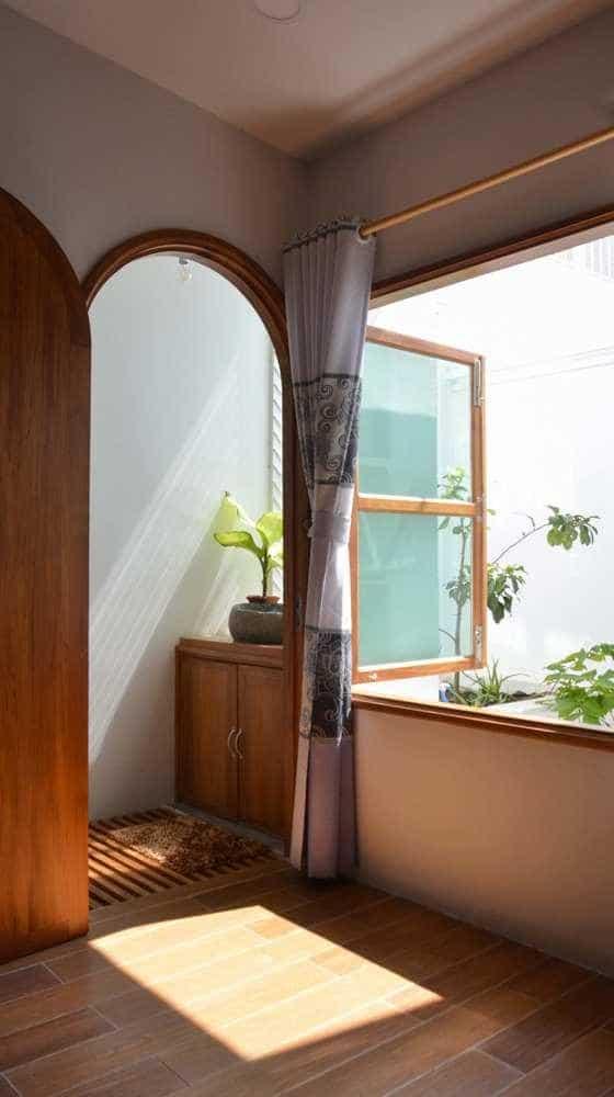 """thiet ke xanh don gian ma an tuong cua ngoi nha tai nha trang 5 - Thiết kế """"xanh"""" đơn giản mà ấn tượng của ngôi nhà tại Nha Trang"""