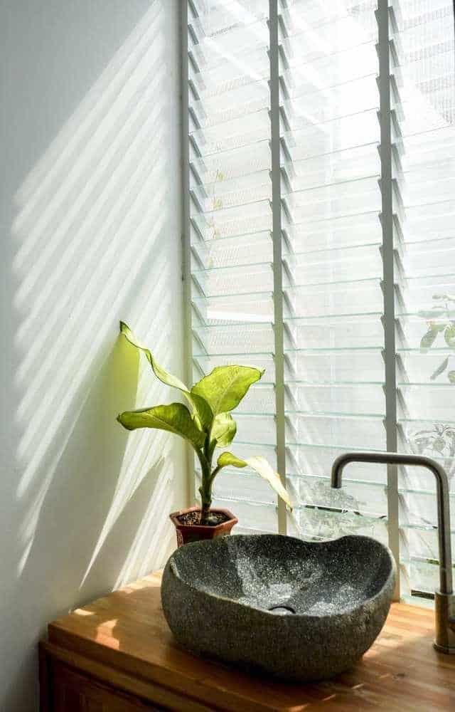 """thiet ke xanh don gian ma an tuong cua ngoi nha tai nha trang 9 - Thiết kế """"xanh"""" đơn giản mà ấn tượng của ngôi nhà tại Nha Trang"""