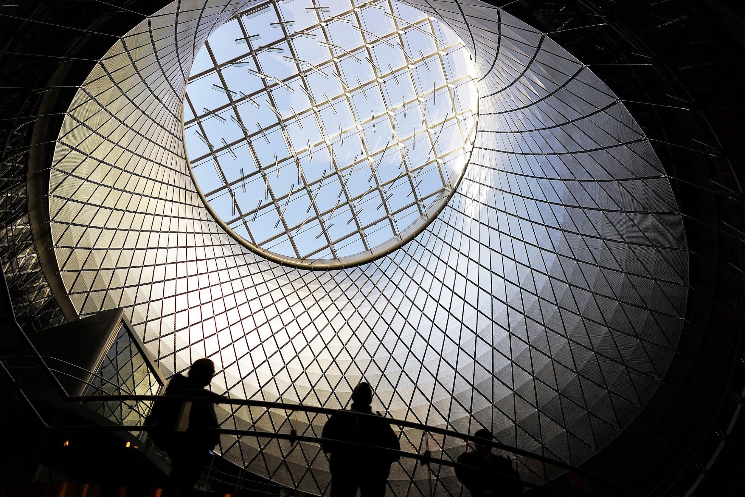 Ga tàu điện ngầm lớn nhất New York Fulton Center