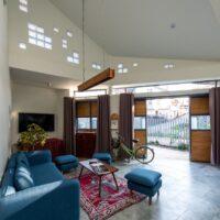 Ấn tượng với thiết kế sáng tạo, độc đáo của ngôi nhà được xây trên mảnh đất méo mó tại Đà Lạt
