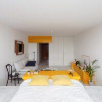 Bất ngờ với căn hộ 30m2 siêu đẹp được thiết kế theo phong cách tối giản
