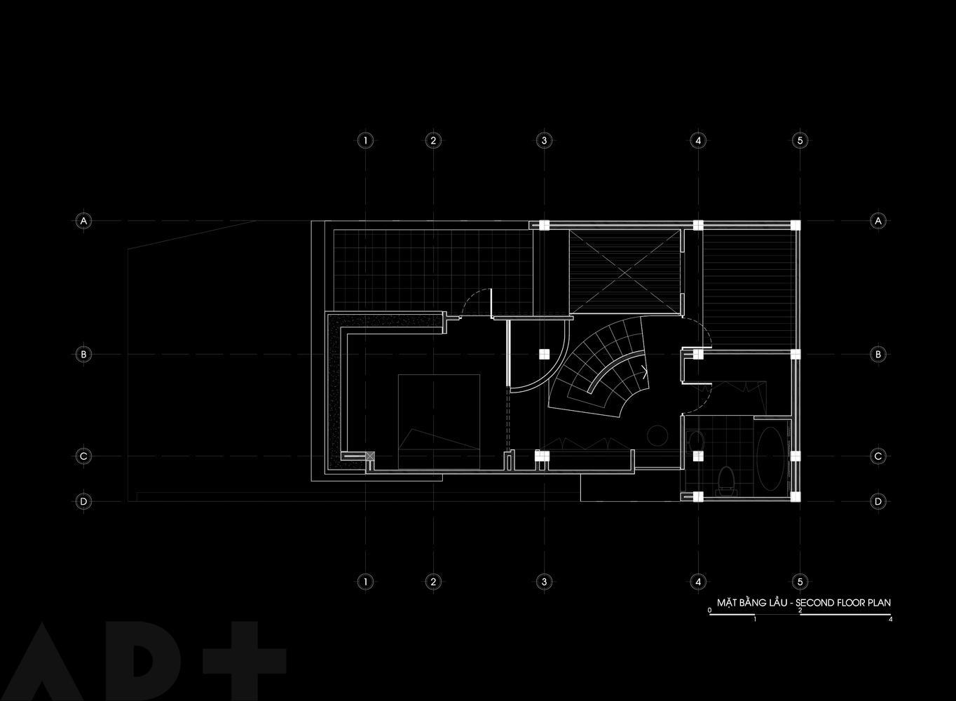 Bản thiết kế tầng 2.