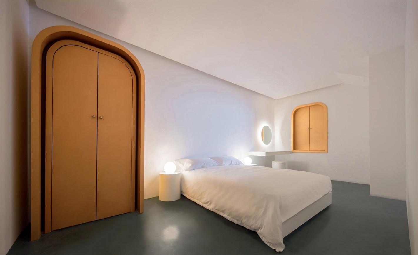 Toàn cảnh khu vực phòng ngủ.