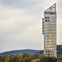 Tòa nhà làm bằng gỗ cao nhất thế giớI tại Na uy vừa được hoàn thành