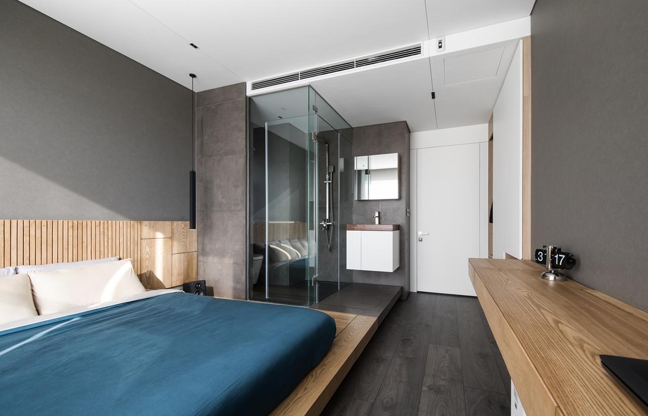 Nội thất được lựa chọn theo tiêu chí thiết kế tối giản kèm tính ứng dụng cao.