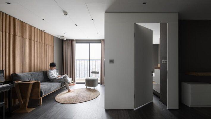 Căn hộ 62m2 tại Hà Nội với phong cách tối giản – minimalist nhưng lại vô cùng đầy đủ và ấm cúng của KTS Nguyễn Thái Thạch