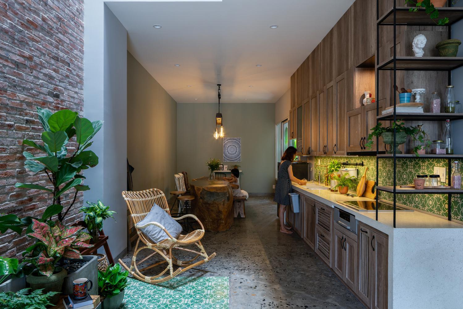 kham pha ngoi nha dac biet tai da nang thu hut moi anh nhin 7 - Khám phá ngôi nhà đặc biệt tại Đà Nẵng thu hút mọi ánh nhìn
